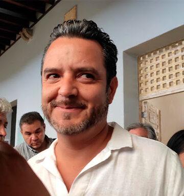 """""""Lobito"""" Villalobos, alcalde de Cuernavaca, Morelos"""
